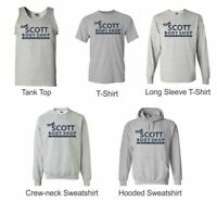 Keith Scott Body Shop  gray T shirts Sweatshirt Tan Top TV Novelty