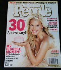 People Magazine, April 12, 2004, Jessica Simpson, 30th Anniversary Issue