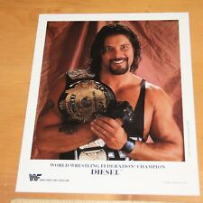 Diesel Kevin Nash official original 8x10 wwe wwf promo photo p-248 color