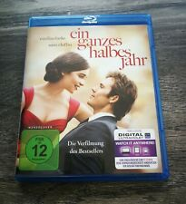 Ein Ganzes Halbes Jahr / Me Before You Blu-Ray Love-Story Emilia Clarke NEW!