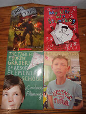 4 - Scholastic Chapter Books - Softcover - Stuntboy - Dexter - Dog Tags