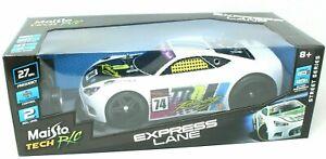 Maisto Tech RC Boy's Express Lane Street Series Racing Car #74 TRN New
