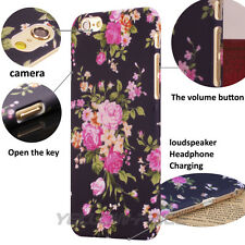 Relief Fashionable Active Flower Case Vintage Pattern For iPhone 6 6S Plus 5.5""