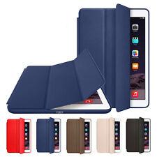 "Original Leather Smart Case Cover for iPad  2/3/4 Pro 9.7"" 12.9"" 10.5"" Mini Air"