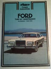 CLYMER SERVICE REPAIR HANDBOOK FOR FORD 1969-76