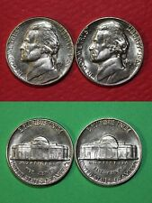 1963 D P BU Thomas Jefferson Nickels From Mint Sets Flat Rate Shipping