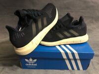 adidas Men's Swift Run M Collegiate Navy/Black/Trace Blue Size 10