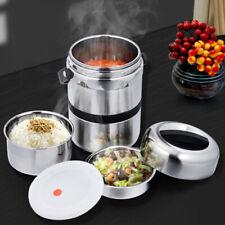 Edelstahl Thermobehälter 1,5L Speisebehälter für Lebensmittel Isolierbehälter