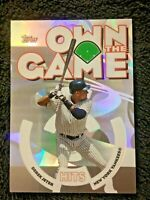 2006 TOPPS OWN THE GAME #OG9 DEREK JETER *YANKEES*