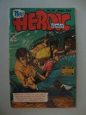 Heroic Comics #62 Vg Everett Cover