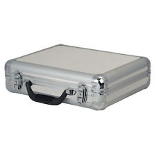 DAP Audio Microphone Flightcase for 7 Microphones Silver Carry Case DJ Karaoke