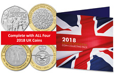 Complete 2018 Commemorative Coin Pack [Ref: 680J]
