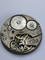 Vintage Swiss Made Pocket Watch Movement for Spares or Repairs Y10
