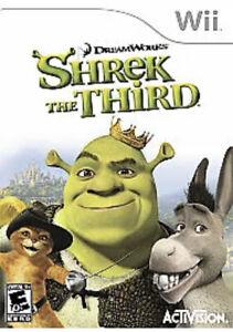Shrek the Third Nintendo Wii Kids Game U
