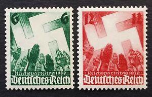 DR Deutsches Reich/German Empire Mi № 632-633 (MNH) 1936 VF! CV 14€