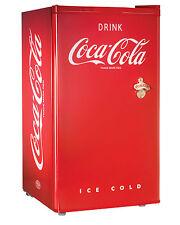 Nostalgia Electrics Coca-Cola Series 3.0-Cubic Foot Compact Refrigerator New