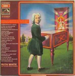RUTH WHITE Klassik O'Tilt (aka Short Circuits) LP Classical Moog – on French EMI