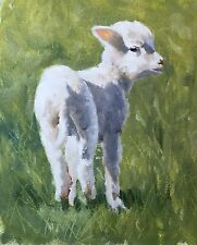 Greeting Card Spring Lamb From Original Painting by James Coates - blank inside
