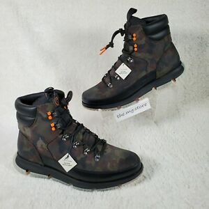 Cole Haan 4.Zerogrand Hiker WP Boots 4ZG Camo Insulated C31855 Men's Size 11.5