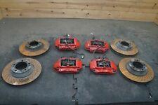 Set Brake Caliper Disc Rotor 99635142910 Oem Porsche 911 Turbo 996 997 2001 06 Fits Porsche