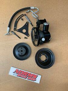 Mopar 383 440 426 Hemi Power Steering Pump Non AC Air Brackets Pulleys GTX CUDA