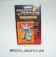 Prowl Sealed Pack Card #16 of Transformers Trading Action Cards 1985 G1