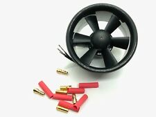 """1 Set ⌀55mm 2.2"""" Electric Fan Duct Unit with Motor for RC Models US Seller Ship"""