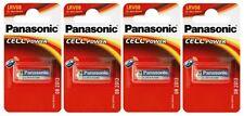 4x Panasonic LRV08 Micro Alkaline Cell Power 12V 23A/MN21 Battery (4 Batteries)