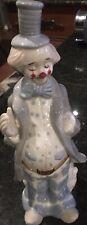 Duncan Royale fine porcelain circus clown figurine vintage