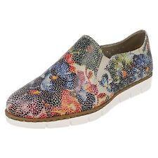 Ladies Rieker M1356 Multi-colour Casual Slip on Shoes UK 6 EU 39 Multi