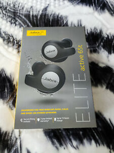 Jabra Elite 65t Wireless Bluetooth Headphones - Titanium Black (New) 2yr wrnty