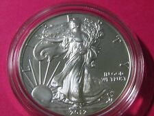 2012-W American Silver Eagle Uncirculated Coin #13 OGP & COA - Gem+++