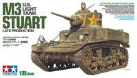 Tamiya 35360 US M3 Stuart Light Tank 1/35 Scale Plastic Model Kit