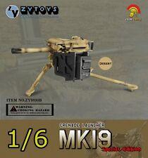 1:6 Action Figure MK-19 MK19 Grenade Launcher US Marine Desert Camo Model 8030B