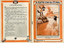 SGRILLI - QUADERNO anni '50 - Il Gatto con gli stivali - NUOVO !!!! vedi>>>