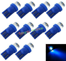 10pcs 194 501 T10 W5W 168 LED azul Side Car Bombillas