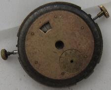 Triple Date mens wristwatch movement & dial load manual 27 mm. in diameter