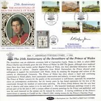 1 MARCH 1994 PRINCE OF WALES BENHAM CUSTODIAN HAND SIGNED FIRST DAY COVER SHS