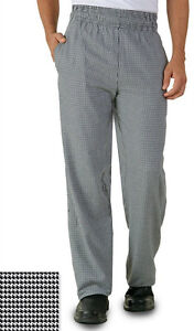 Uncommon Threads Baggy Chef 4000 Pants - Hounds Tooth Sizes S to 3X