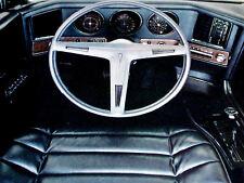 1969 PONTIAC GRAND PRIX SJ VTG AD-interior/trim/steering wheel/dash/console/tach