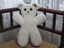 Ikea Sweden BEAR Unicef PS BRUM White Bendable Teddy Plush Rare