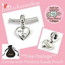 Authentic PANDORA Congratulations Heart & Stars Dangle Charm - 799323C01