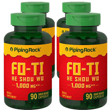 Piping FO-TI EXTRACT 1000mg He-Shou-Wu Root 4X90 / 2X180Caps Polygonum multiflor