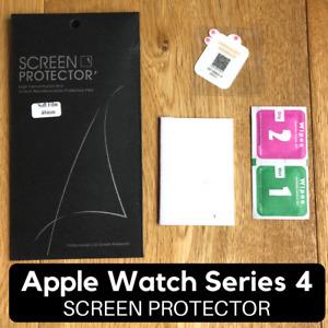 Apple Watch Series 4 Screen Protector, 40mm & 44mm Waterproof Ultra Thin Film
