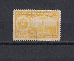 VENEZUELA Scott C255 Used, 1947 10B Airmail, High value in set