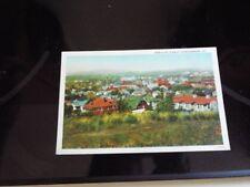 Birdseye View of Harrisonburg Virginia Vintage Postcard d