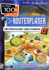 Routenplaner Deutschland und Europa PC CD-ROM
