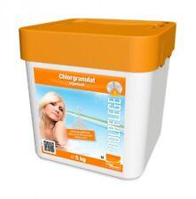 Chlorgranulat 5 kg - Pool + Schwimmbad Wasserpflege Chlor
