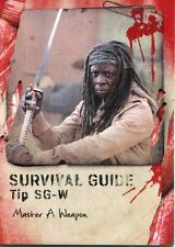 Walking Dead Survival Box Survival Guide Chase Card #SG-W Master A Weapon