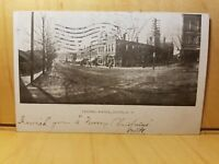 A4) Postcard 1905 CENTRAL AVENUE DOVER NH dirt street Post Card